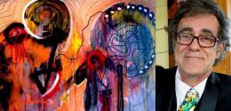 Luc A. Charrette au Festival des arts visuels en Atlantique