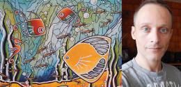 Patrick Minville au Festival des arts visuels en Atlantique 2015