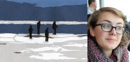 Romy Léger-Daigle au Festival des arts visuels en Atlantique 2015