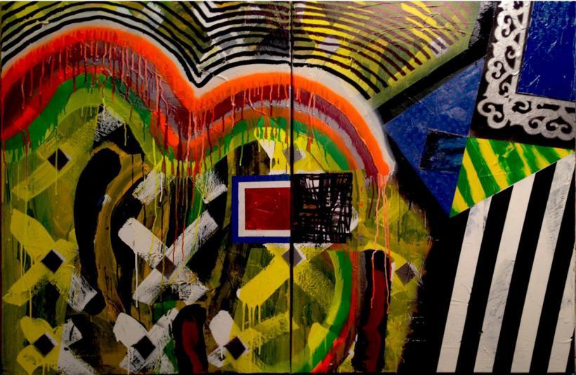 Sans titre : Abstraite 12